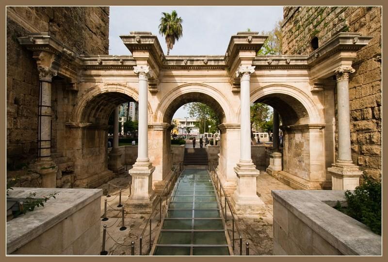 Анталия исторический центр