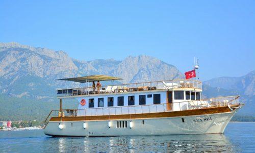 яхта sea spa