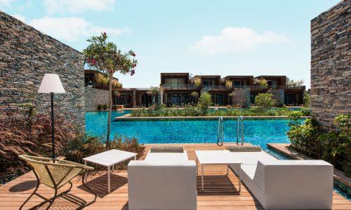 Вилла Maxx Laguna Villa с 1 спальной комнатой и видом на бассейн, общей площадью 150 м²