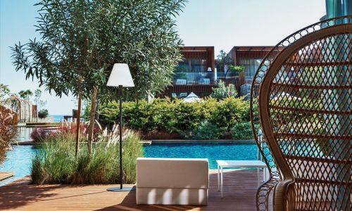 Двухэтажная вилла, MAXX LAGUNA DUPLEX VILLA 3 BEDROOMS с 3 спальными комнатами и видом на бассейн, общей площадью 310 м²
