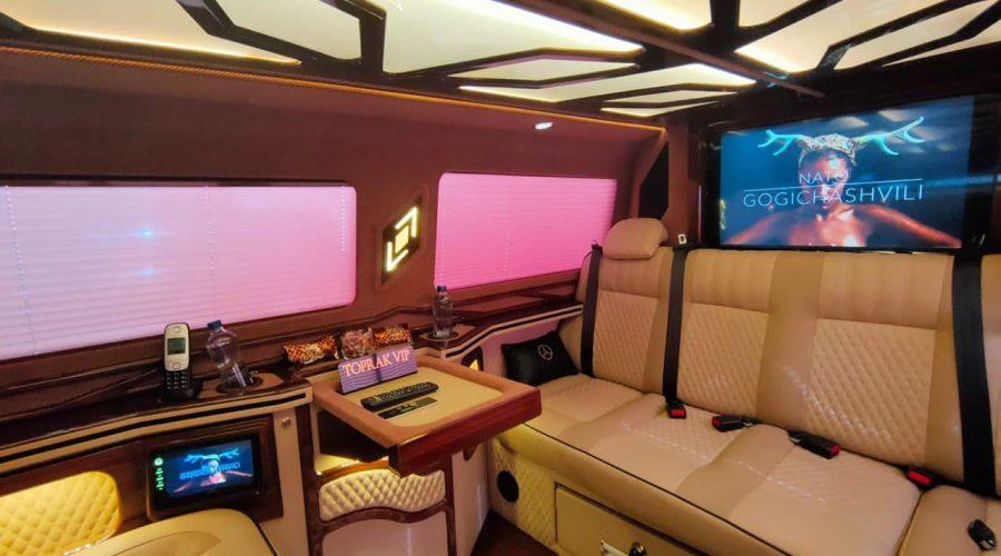 VIP transfer Mersedes VITO LUX